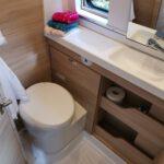 Bad WC Knaus wohnmobil